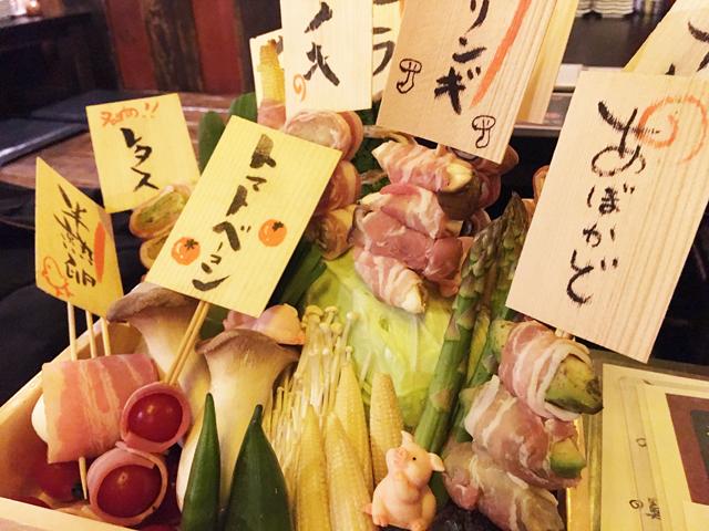 「炭火野菜巻き串と焼売 博多うずまき 薬院店」3月8日オープン