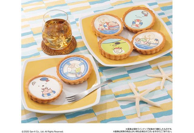 「すみっコぐらしタルト summer ver.」九州エリアのイオンから発売