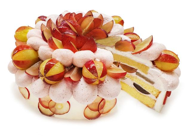 カフェコムサ、石川県産プレミアムぶどう「ルビーロマン」使用のショートケーキ、22日限定発売へ