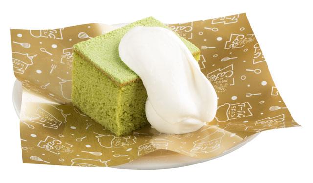 スシローカフェ部から「宇治抹茶香るくちどけケーキ」発売へ