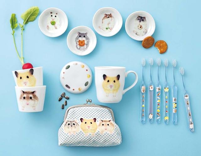 フェリシモの予約コレクションに「ハムスター雑貨」「ペンギン雑貨」「小鳥雑貨」「猫雑貨」が新登場