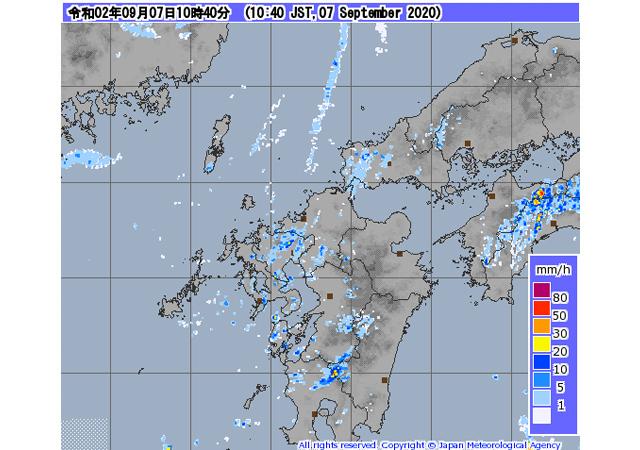 【終報】台風10号「県内正午ごろ暴風域抜ける見通し」