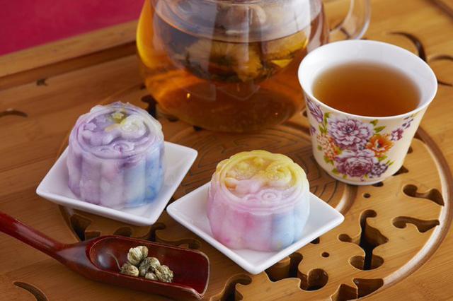 中国茶カフェ・チャイナカフェ 中華風のお月見セット販売開始!