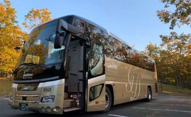 西鉄の最高峰観光バス車両「グランデイズ」がグッドデザイン賞を受賞