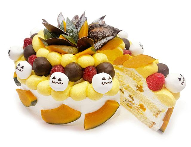 カフェコムサ、10月はハロウィンをイメージした限定ショートケーキ2種類が登場