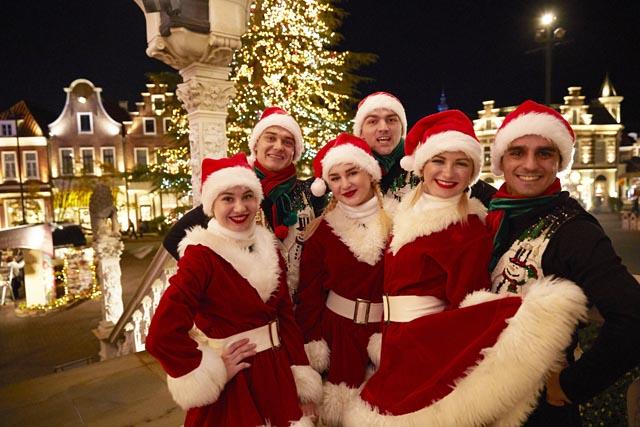 冬のハウステンボス、今年はクリスマスタウンが新登場