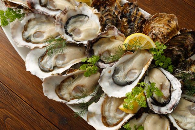 キャナルのフィッシュ&オイスターバーで生牡蠣含む「20種類の牡蠣料理」食べ放題