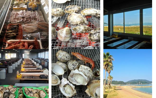 炭火で自慢の牡蠣を堪能「唐泊恵比須かき小屋」営業開始!