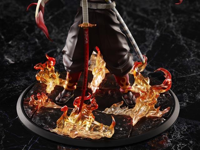 アニプレックスから『劇場版「鬼滅の刃」無限列車編』より煉獄 杏寿郎 1/8スケールフィギュアが登場