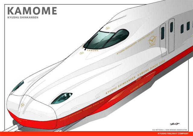 九州新幹線(武雄温泉・長崎間)新幹線の名称は「かもめ」