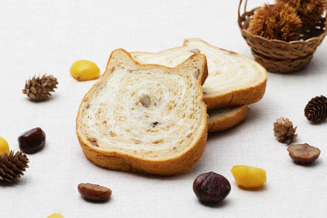 ねこねこ食パン、11月の限定フレーバーは「モンブラン」