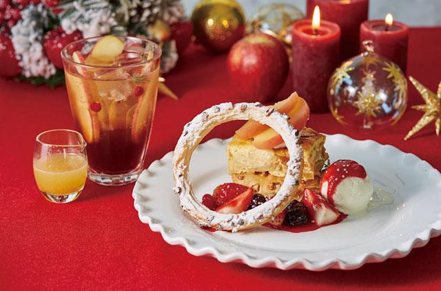 アフタヌーンティーからクリスマス期間限定の「りんごスイーツ」発売へ
