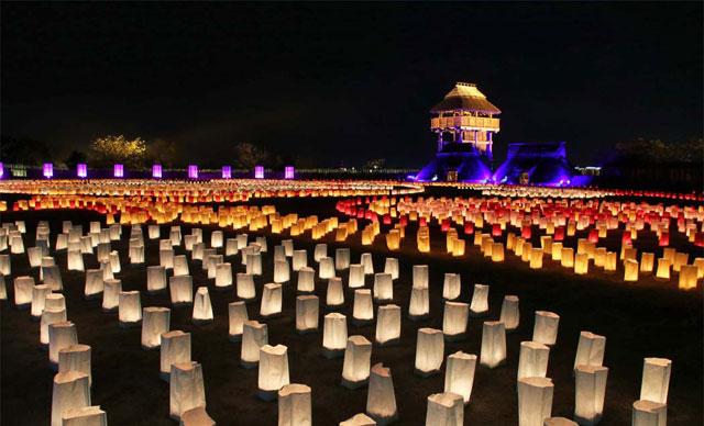 吉野ヶ里歴史公園「吉野ヶ里 光の響」開催へ
