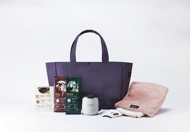 タリーズコーヒーの福袋「2021 HAPPY BAG」予約受付開始へ
