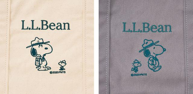 PLAZA×L.L.Bean「PEANUTS コラボトートバッグ」予約販売開始