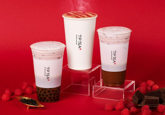 TP TEAから「タピオカショコラベリーラテ」期間限定発売へ