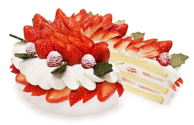 """カフェコムサ、今月の""""ショートケーキの日""""は「クリスマスデザインの限定ショートケーキ」が登場"""