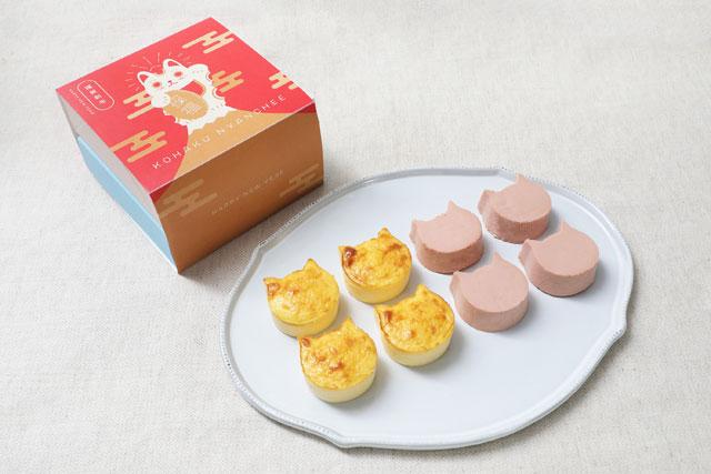 ねこねこチーズケーキから「紅白にゃんチー」発売へ