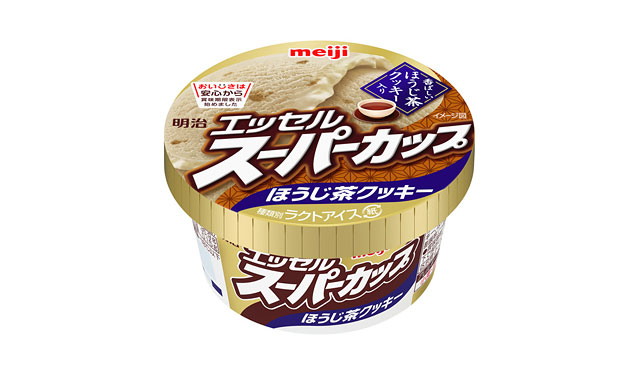 """エッセルスーパーカップ""""初のフレーバー""""「ほうじ茶クッキー」発売へ"""