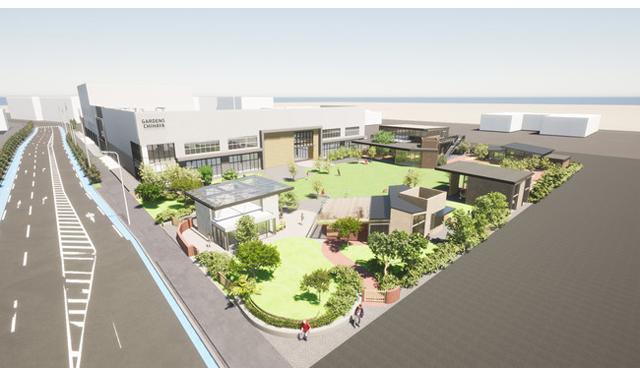 複合商業施設「GARDENS CHIHAYA(ガーデンズチハヤ)」併設する広場の開発計画に(株)オープン・エーが参画