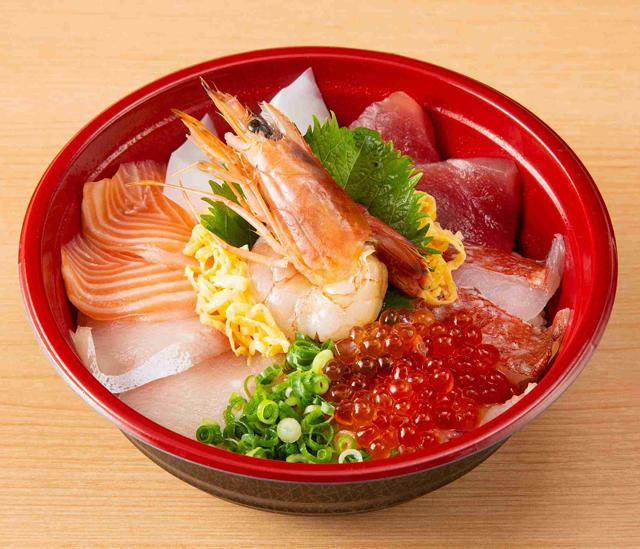 「どんぶり居酒屋 喜水丸」海鮮丼から天丼までテイクアウト『丼メニュー』勢揃い