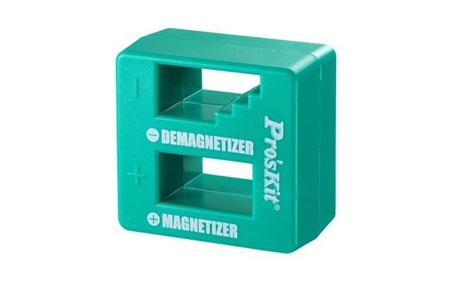 手持ちの工具が簡単に磁極化でき消磁もできる「ドライバー用マグネタイザー」登場