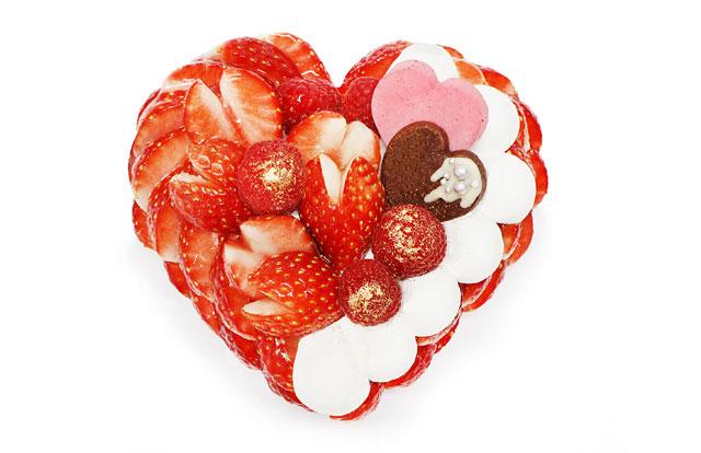 カフェコムサ「恋みのり」使用のバレンタイン限定ケーキ発売へ