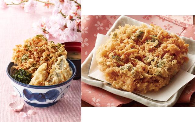 「天丼てんや」春の名物『桜海老天丼』が今年も登場、桜海老の香りが楽しめるサクサクな「桜海老かき揚げ」で春の味をお届け