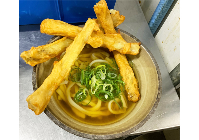 居酒屋からの業態変更、自家製麺つけうどん「うちたて 麺吾郎」半道橋にオープン