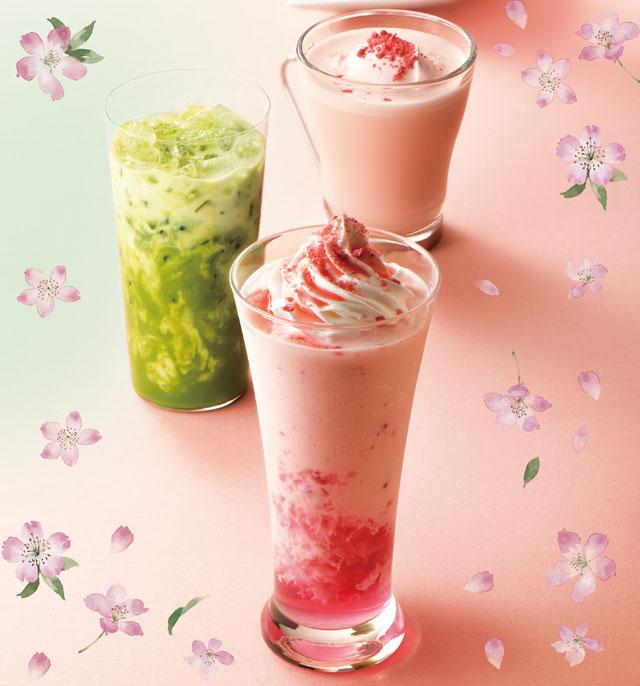 カフェ・ド・クリエから「華やか桜&ベリー」「駿河湾産しらすの和風パスタ」発売へ