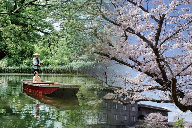 【1日1組限定】貸切舟でゆったりとお花見を「お舟でお花見宿泊プラン」を3月6日より予約開始