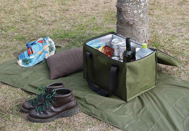 アウトドアや日常使いで大活躍する保冷バッグ「クールカーゴバッグ」新登場