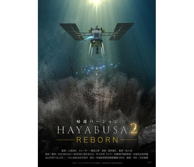 宗像ユリックスプラネタリウムで「HAYABUSA2 ~REBORN」帰還バージョンの上映が決定