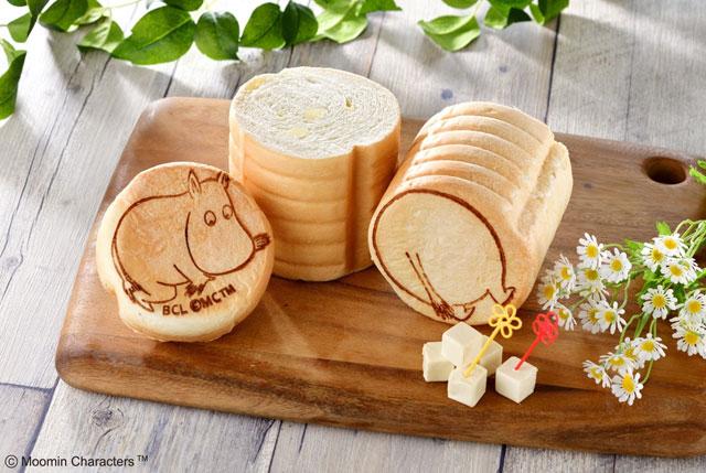 ムーミンカフェから「まんまるおしりパン」のチーズフレーバー登場