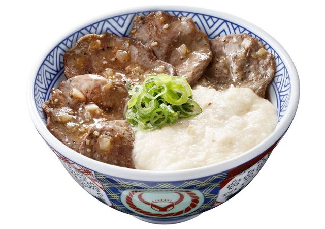吉野家の牛焼肉丼シリーズ新商品『牛たんとろろ丼』数量限定販売開始