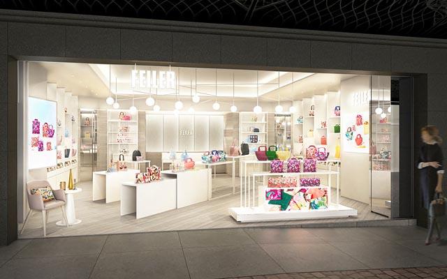 フェイラーの全ラインを取りそろえた旗艦店が天神地下街に九州初オープンへ