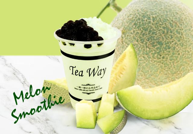 タピオカドリンク専門店TeaWayから期間限定の「メロンスムージー」販売開始