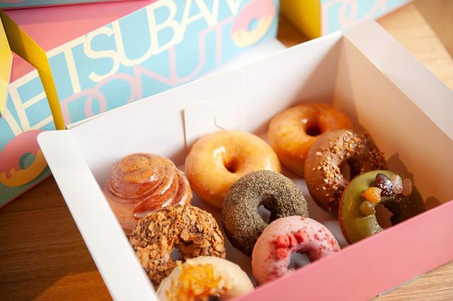 ヘルシーなドーナツと 多肉植物とカフェのお店「TSUBAME DONUT(ツバメ ドーナツ)」が期間限定で天神に登場