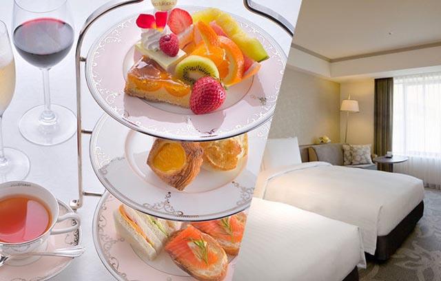 ホテル日航福岡がアフタヌーンティーを楽しめる宿泊プランを展開