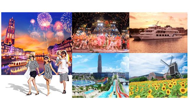 ハウステンボスが光の王国を舞台に「サマーフェスティバル~光の街の夏祭り~」開催