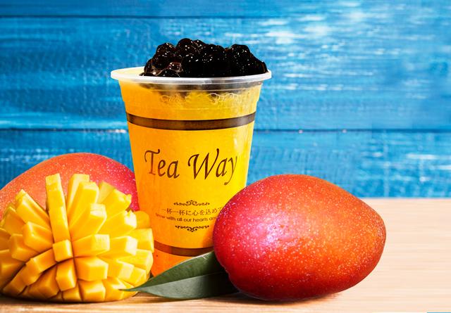 タピオカドリンク専門店TeaWayからタピシュワ第二弾の「マンゴーソーダ」が新登場