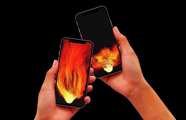 チームラボ「炎を持ち帰り他の人につなげるスマホアプリ」リリース