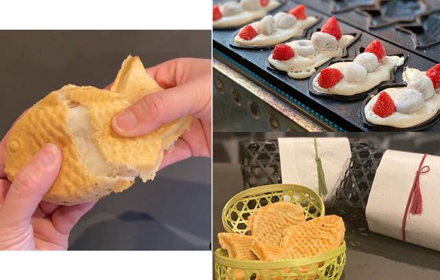 1日限定200個、九州産の食材を使った高級たい焼き「 笑顔を運ぶ 高級たい焼き きんと雲」久留米にオープン