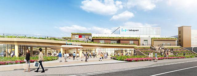 福岡市青果市場跡地に「ららぽーと」九州初進出「三井ショッピングパーク ららぽーと福岡」に名称決定