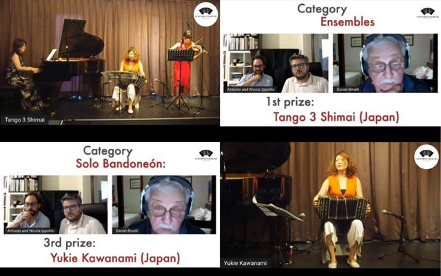 福岡市在住のタンゴトリオ「タンゴ三姉妹+」がピアソラ生誕100周年を記念したイタリア国際音楽コンクールで優勝