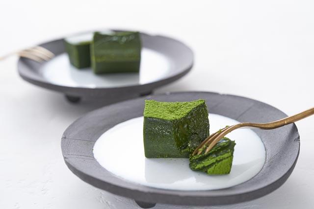 八女市星野村の一番茶を使用「フローズンケーキ マーチ」第3弾商品登場