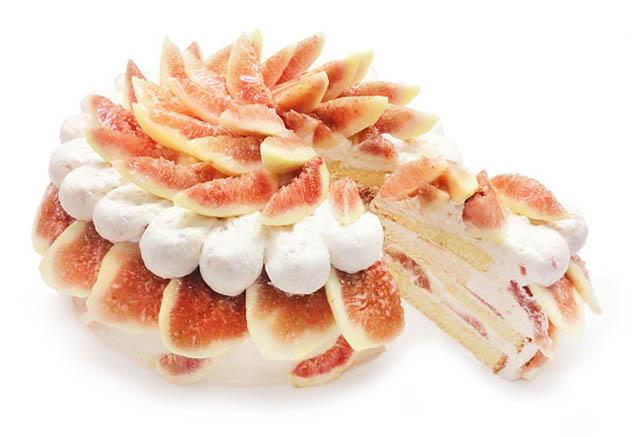 カフェコムサ、8月のショートケーキの日は「いちじくを使用したケーキ」が登場