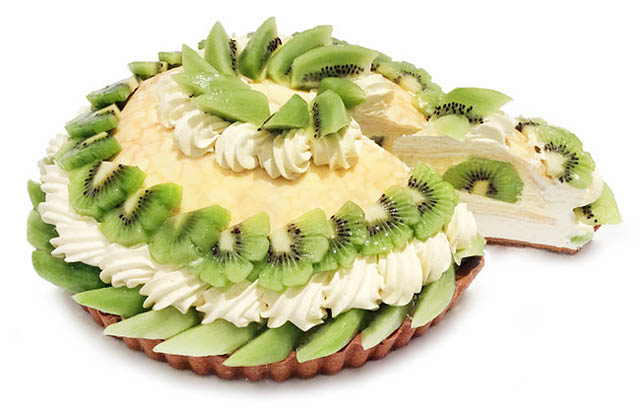 9月1日はキウイの日、カフェコムサから各店舗限定「キウイのケーキ」発売へ