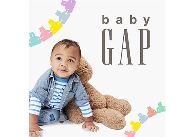 人気のベビー商品も取り扱う「GAP(ギャップ) イオンモール福岡店」9月10日オープン