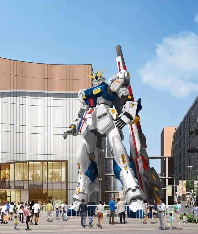 三井ショッピングパーク ららぽーと福岡、新機体「実物大νガンダム」2022年春公開へ
